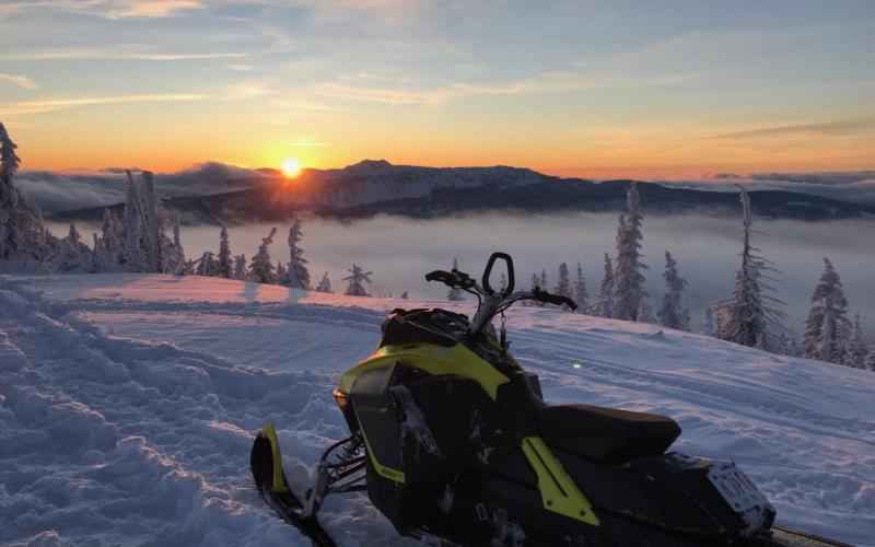 Ski-Doo View over Sicamous